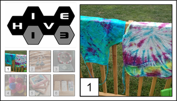 Tie-Dye - Bring Your Own T-shirt to Tie-Dye, Groovy Man!
