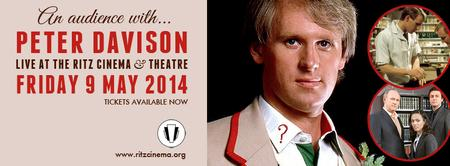 An Evening With Peter Davison @TheRitzCinema