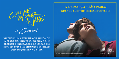 Call Me By Your Name In Concert
