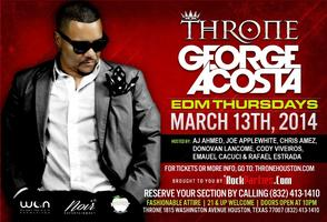 George Acosta LIVE @ Throne EDM Thursdays