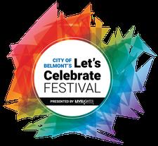 City of Belmont's Let's Celebrate Festival logo