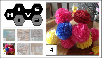 Paper Flower Bouquets – Fun and quick tissue paper...