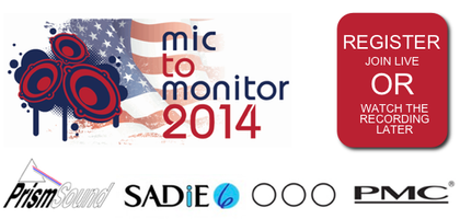 Mic to Monitor USA Tour 2014 WEBCAST