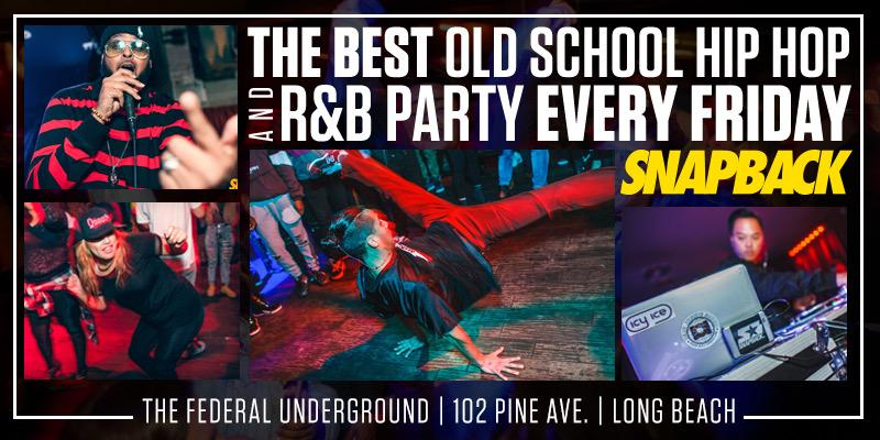 Snapback LBC Old School Hiphop Party