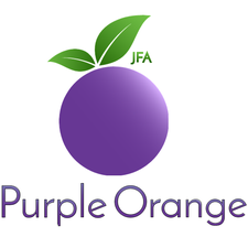 Independent Advocacy, Home Place, Citizen Advocacy, Community Living Project & JFA Purple Orange logo