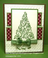 DEBRA DEW ALTMAN MEMORIAL CHRISTMAS CARD STAMP A STACK