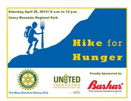 Hike for Hunger 2014