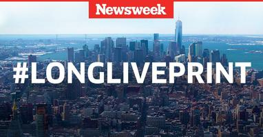#LongLivePrint presented by Newsweek/IBT Media