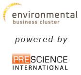 Environmental Business Cluster, powered by Prescience International logo