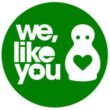 We, Like You logo