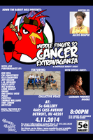 Middle Finger to Cancer Extravaganza