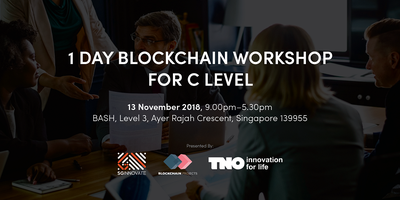 1 Day Blockchain Workshop For C-Level
