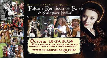 22nd Annual Folsom Renaissance Faire & Shakespeare...