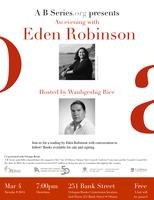 Eden Robinson - Reading + Conversation with Waubgeshig...