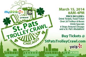 St Patty's Trolley Crawl (THIS YEAR EVENT AT...