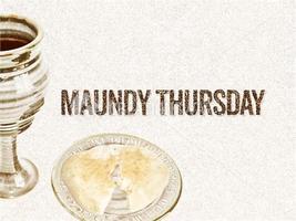 Maundy Thursday Service at Hope Presbyterian
