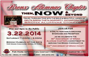 Delta Sigma Theta Sorority Inc. - Bronx Alumnae hosts...