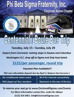 Bus to Sigma Centennial and Zeta Boule