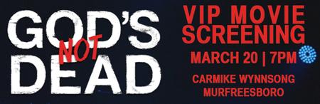 VIP Screening of Gods Not Dead