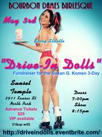 "Bourbon Dames Burlesque - ""Drive-In Dolls"""