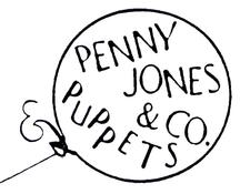 Penny Jones & Co. Puppets  -  Early Childhood Puppet Theatre logo
