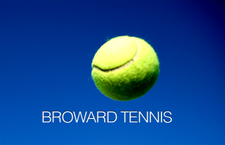 The Broward Tennis Flex League logo