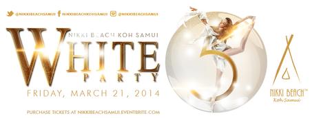Nikki Beach Koh Samui 5th Anniversary White Party
