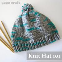 Knit Hat 101 (2-Part Class)