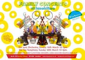 The Toy Symphony: Sunday Lunch Family Concert (3yrs+)...
