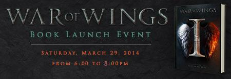 War of Wings - Book Launch Event