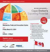 Beyond Our Borders - Cape Breton's Exporting Potential