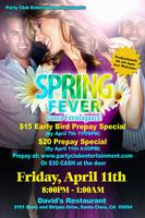 *Let's Celebrate At The Spring Fever Dance...