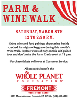 Parm and Wine Walk