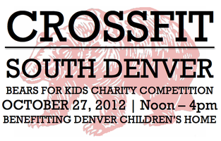 CrossFit South Denver Bears for Kids Charity Competitio...