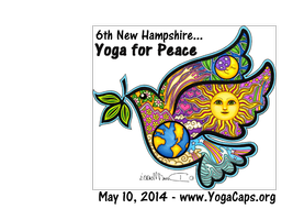 6th NH Yoga for Peace
