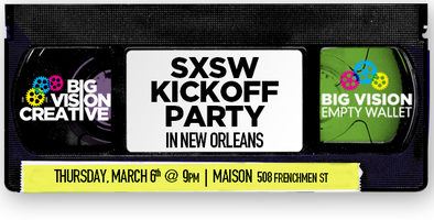 SXSW Kickoff in New Orleans