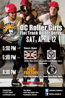 OC Roller Derby: OC v. LB Juniors, Pulp Friction v....