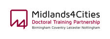 Midlands4Cities Doctoral Training Partnership logo