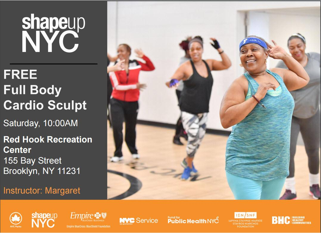Free Group Workout Class - Full Body Cardio Sculpt