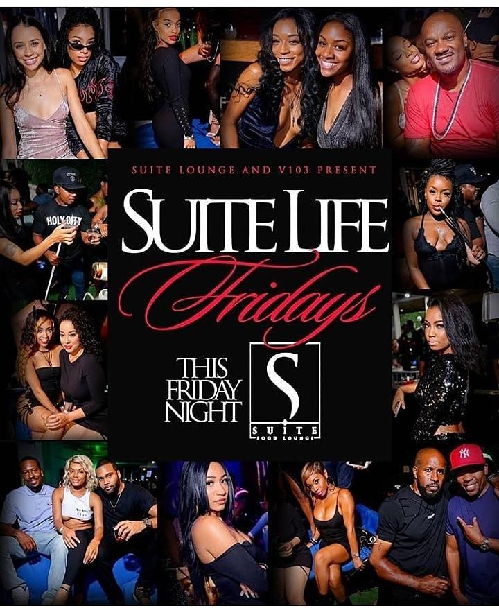 Jshermanent Suite Life Fridays at Suite Lounge Free til 12 w RSVP!!!