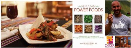 Peruvian Superfood and Booksigning with Manuel Villacor...