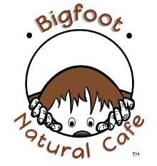 Bigfoot Natural Cafe logo