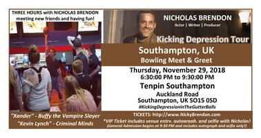 Nicholas brendon buffy criminal minds meet greet southampton nicholas brendon buffy criminal minds meet greet southampton uk tickets thu nov 29 2018 at 630 pm eventbrite m4hsunfo