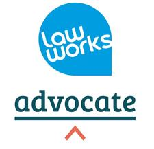 Advocate and LawWorks logo