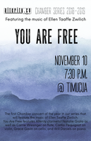 Alterity Chamber Orchestra presents You Are Free