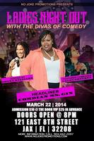 Ladies night Out with the Diva's of Comedy