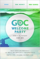 DFAD, RBK Money and RBK Games: GDC 2014 Welcome Party!