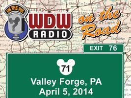 """WDW Radio """"On the Road"""" – Valley Forge, PA – Saturday,..."""