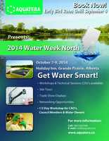 Water Week North - Booth Registration