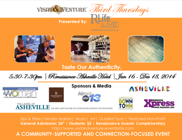 Visit & Venture Presents: Third Thursdays!